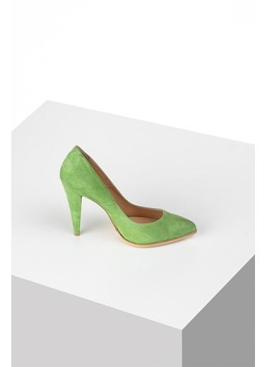 Pier Lucci Hakiki Deri Ayakkabı Yeşil
